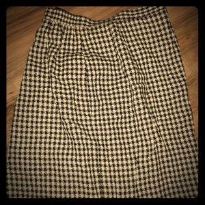Dresses & Skirts - SKIRT, HOUNDSTOOTH
